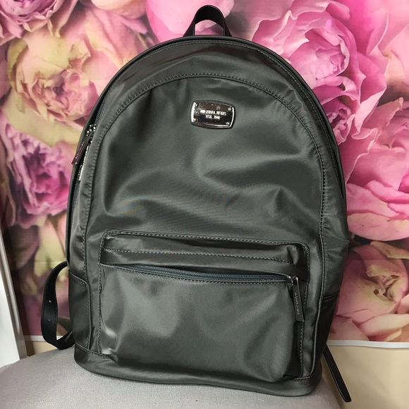 f196801b2844 NWT Michael Kors Jet Set Graphite Lg Backpack